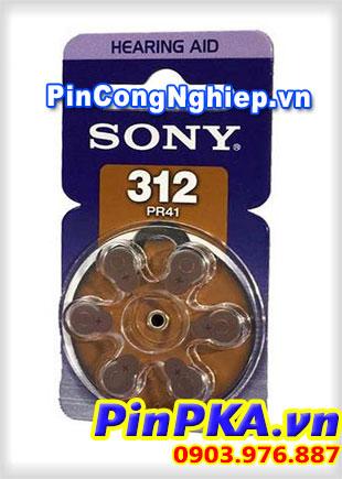 Pin Điếc Sony 312PR41-pin máy trợ thính
