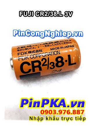 Pin Nuôi Nguồn PLC-CNC Lithium 3V FDK Fuji CR2/38.L 2/3A 1900mAh