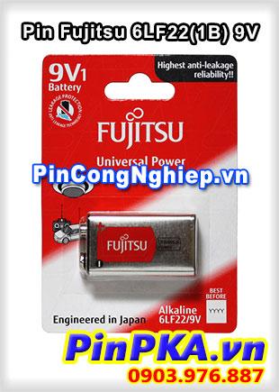 Pin 9V Fujitsu Alkaline 6LF22(1B)
