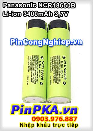 Pin Sạc Li-ion 3,7V Panasonic NCR18650B 3400mAh