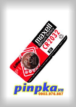 Pin cúc áo 3V Maxell Lithium CR2032