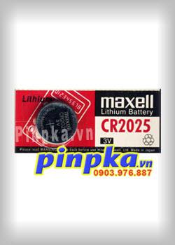 Pin cúc áo 3V Maxell Lithium CR2025