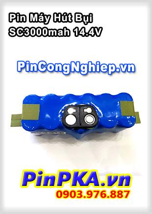 Thay Cell Pin Máy Hút Bụi SC3000mAh 14,4V