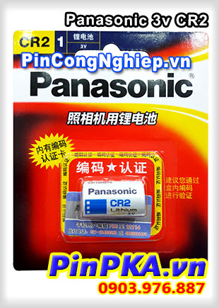 Pin Máy Ảnh Lithium 3V Panasonic CR2