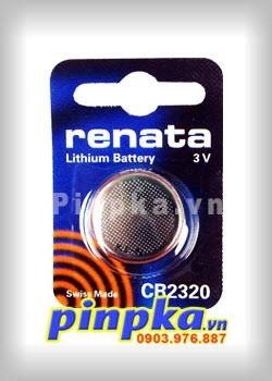 Pin đồng tiền 3V Renata Lithium CR2320