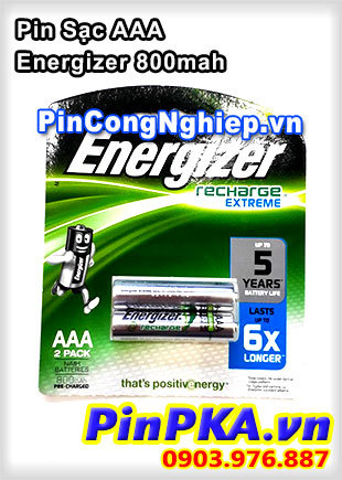 Pin Sạc AAA Energizer 800mah
