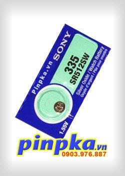 Pin Cúc Áo 1,55V Sony SR512SW-335