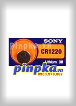 Pin Cúc Áo 3V Sony Lithium CR1220