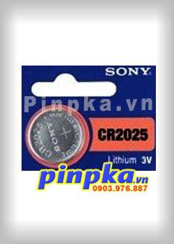 Pin cúc áo 3V Sony Lithium CR2025