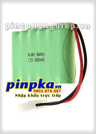 Pin đèn Exit Ni-MH 7,2v A 1800mAh