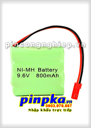 Pin đèn Exit Ni-MH 9,6v AAA 800mAh