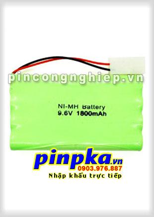 Pin đèn Exit Ni-MH 9,6v AA 1800mAh