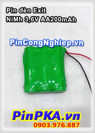 Pin đèn Exit NiMh 3.6V AA 2000mAh