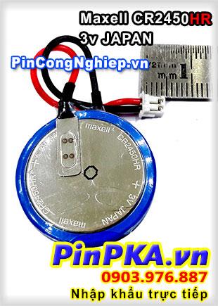 Pin nuôi nguồn Maxell CR2450HR 3v Japan 168DLW (chịu nhiệt cao)
