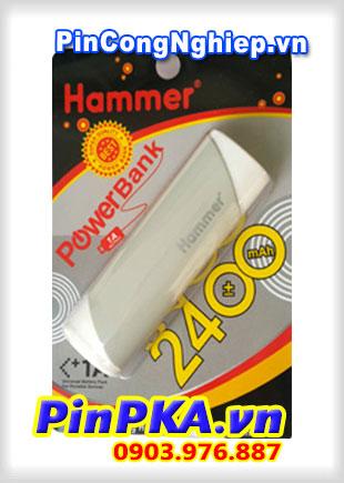 Pin sạc dự phòng Hammer 2400mAh
