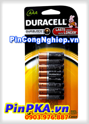 Pin đũa AAA Duracell MN2400 LR03 (vỉ 8)