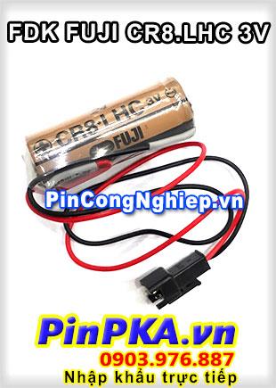 Pin Lithium FDK Fuji CR8.LHC 2600mAh 3V/ Japan / Ship toàn quốc