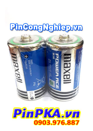 Pin đại D 1,5V Maxell Super Power Ace R20P(AR)