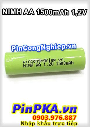 Pin Sạc Công Nghiệp-Pin Cell 1,2v Ni-MH AA1500mAh
