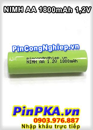 Pin Sạc Công Nghiệp-Pin Cell 1,2v Ni-MH AA1800mAh