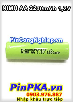 Pin Sạc Công Nghiệp-Pin Cell 1,2v Ni-MH AA2200mAh