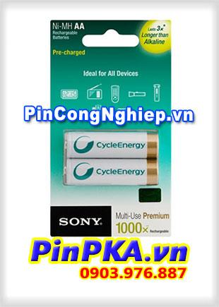 Pin sạc SONY AA-Pin sạc thế hệ mới NH AA B2KN 2000mAh