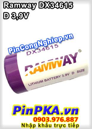 Pin Lithium Ramway DX34615 16600mAh 3,9V