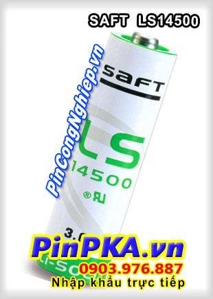 Pin Nuôi Nguồn PLC-CNC Lithium 3,6V SAFT LS14500 AA 2600mAh