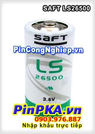 Pin Nuôi Nguồn PLC-CNC Lithium 3,6V Saft LS26500 C 7700mAh