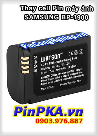 Thay cell Pin Máy Chụp Ảnh SAMSUNG BP-1900 7,4v 1900mAh