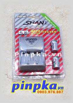 Bộ Sạc Pin Li-ion CR123A-CR2 3V Life P04 SH-116