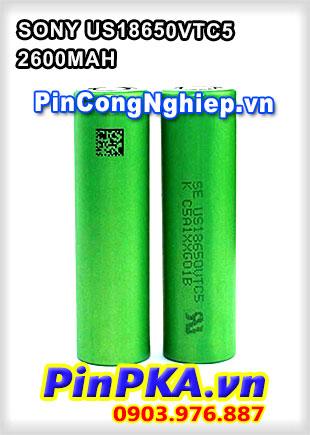 Pin Sạc Công Nghiệp SONY US18650VTC5-2600MAH