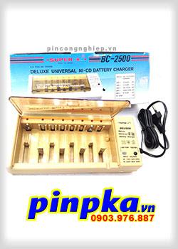 Bộ sạc pin đa năng Super BC-2500