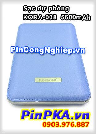 Pin sạc dự phòng Koracell KORA-008 5600mAh Xanh