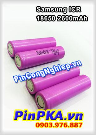 Pin Sạc Công Nghiệp Li-ion 3,7v Samsung ICR 18650-26H 2600mAh