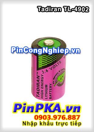 Pin Nuôi Nguồn PLC-CNC Lithium 3,6V Tadiran TL-4902 1/2AA 1200mAh