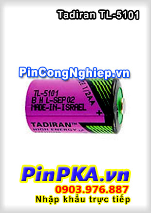 Pin công nghiệp Lithium Tadiran 3,6v TL-5101
