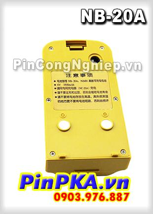 Thay cell Pin Máy Trắc Địa-Toàn Đạc SOUTH NB-20A