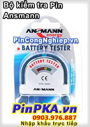 Bộ kiểm tra Pin Ansmann Battery Tester