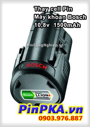Thay Cell Pin Máy Khoan Bosch 10,8v 1500mAh