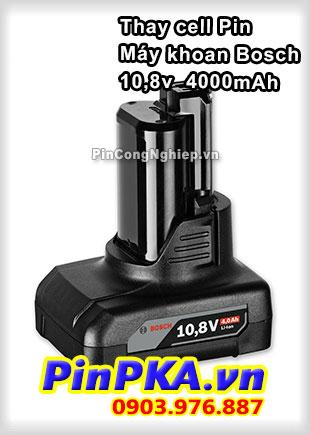 Thay Cell Pin Máy Khoan Bosch 10,8v 4000mAh