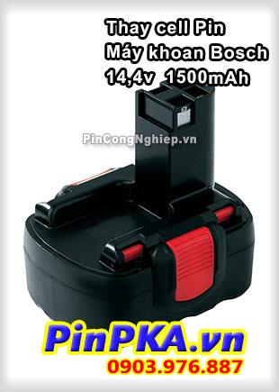 Thay Cell Pin Máy Khoan Bosch 14,4v 1500mAh