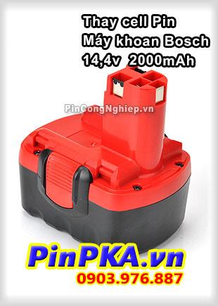 Thay Cell Pin Máy Khoan Bosch 14,4v 2000mAh