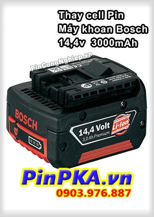 Thay Cell Pin Máy Khoan Bosch 14,4v 3000mAh