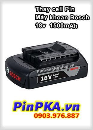 Thay Cell Pin Máy Khoan Bosch 18v 1500mAh