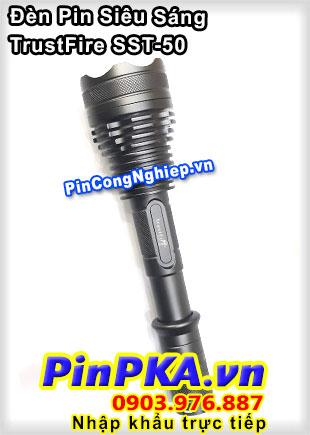 Đèn Pin siêu sáng cao cấp TrustFire X7 SST-50 1300 lumens cực tốt