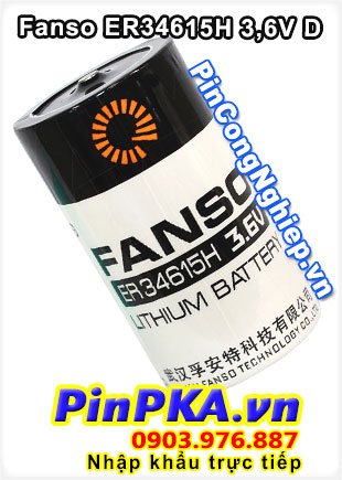Pin Lithium FANSO ER34615H 3,6V D