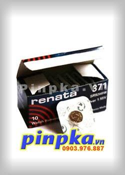 Pin Cúc Áo 1,55V Renata SR920SW-371
