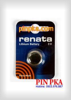 Pin Cúc Áo 3V Renata Lithium CR1632